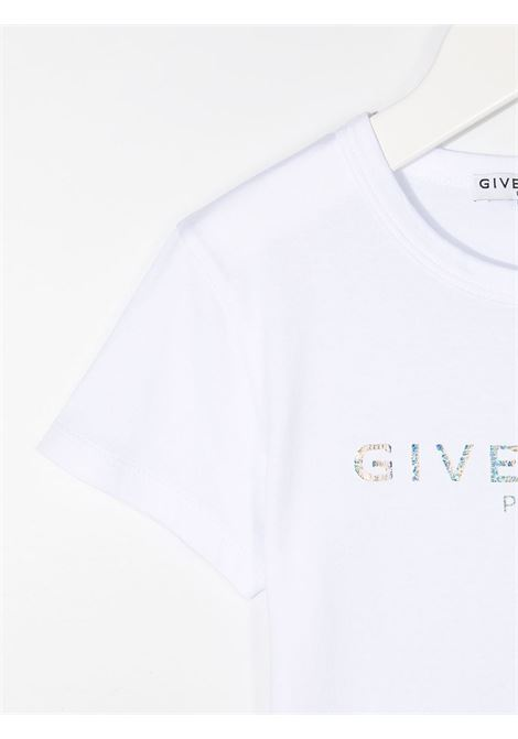 T-shirt bianca GIVENCHY KIDS | T-SHIRT | H1519910B