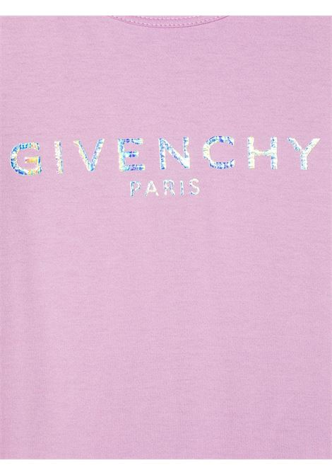 T-shirt lilla GIVENCHY KIDS | T-SHIRT | H15199929