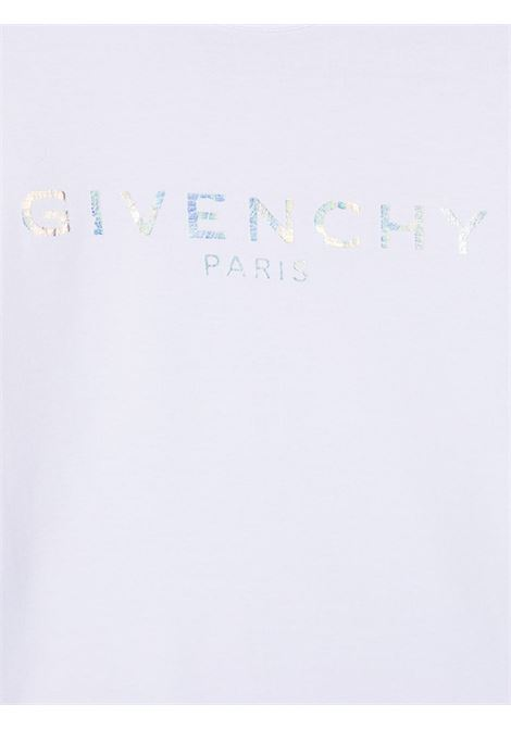 White t-shirt GIVENCHY KIDS | T-SHIRT | H15199T10B