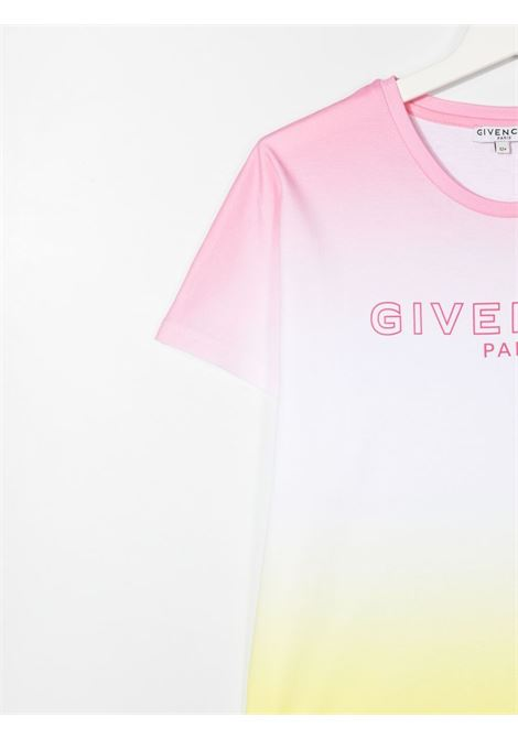 T-shirt colorata GIVENCHY KIDS | T-SHIRT | H15200TZ40