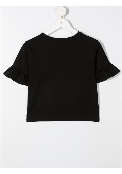 T-shirt nera GIVENCHY KIDS | T-SHIRT | H1520109B