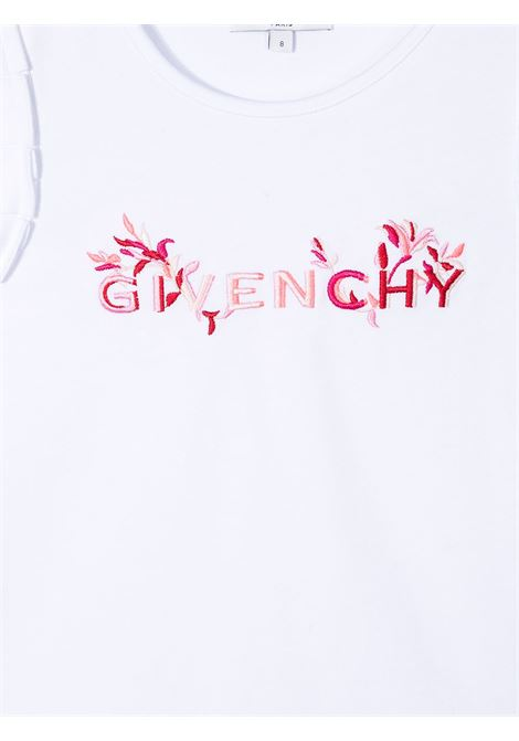 T-shirt bianca GIVENCHY KIDS | T-SHIRT | H1520310B