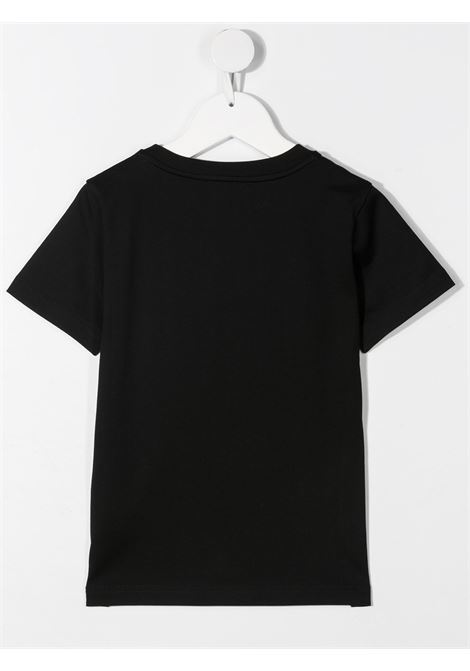 T-shirt nera GIVENCHY KIDS | T-SHIRT | H2524509B