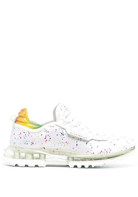 White sneakers GIVENCHY | BH003AH0TY100