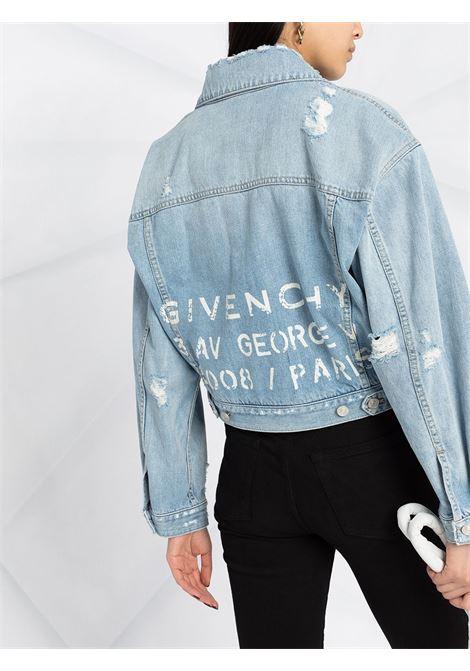 Blue jacket GIVENCHY |  | BW00BT50D1452