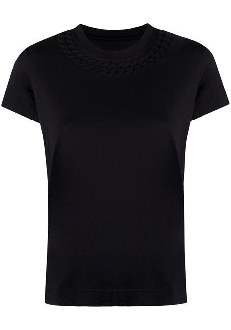 T-shirt nera GIVENCHY | T-SHIRT | BW707Y3Z4Z001