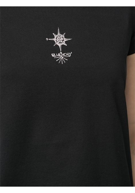 Black t-shirt GIVENCHY | T-SHIRT | BW707Y3Z54001