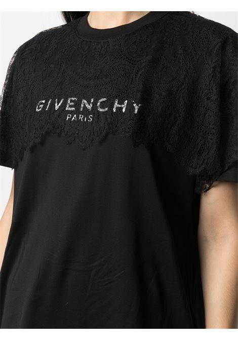 Black t-shirt GIVENCHY |  | BW708R3Z4U001