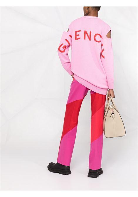 Pink cardigan GIVENCHY | CARDIGAN | BW90CN4Z9L910