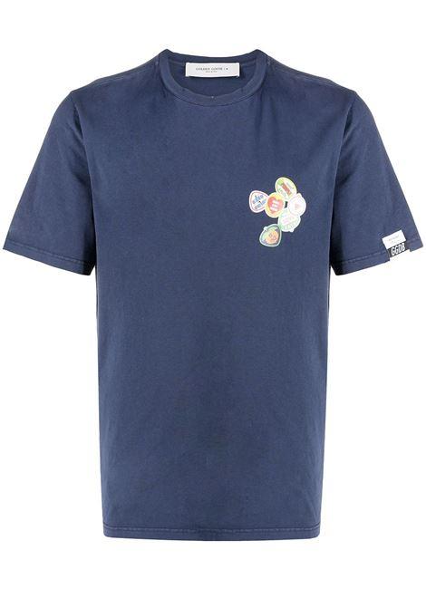 Blue t-shirt GOLDEN GOOSE | T-SHIRT | GMP00781P00043550510