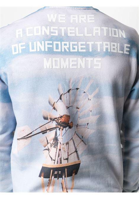 Light blue/white sweatshirt GOLDEN GOOSE | SWEATSHIRTS | GMP00789P00044710330