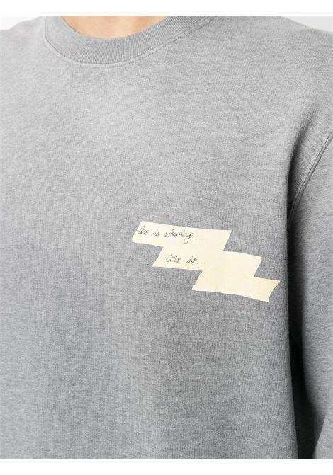 Grey sweatshirt GOLDEN GOOSE | SWEATSHIRTS | GMP00790P00044560267