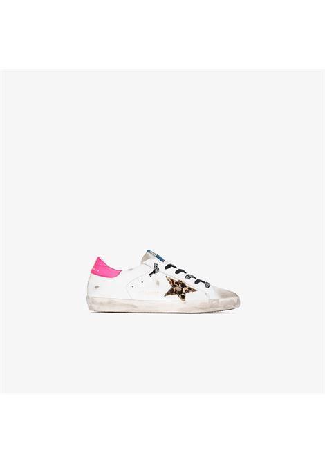 Snekaers bianca/rosa GOLDEN GOOSE | SNEAKERS | GWF00101F00011580164