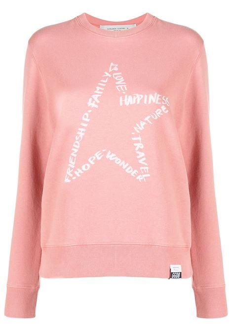 Pink sweatshirt GOLDEN GOOSE | GWP00760P00036825554