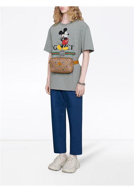 Grey T-shirt GUCCI | 565806XJB671093