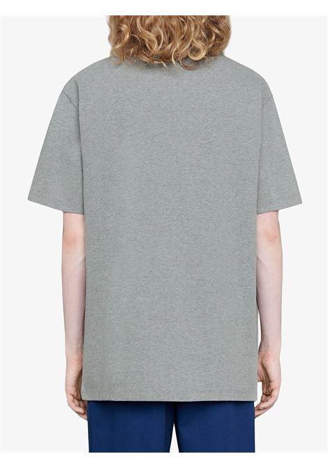 T-shirt grigia GUCCI | T-SHIRT | 565806XJB671093