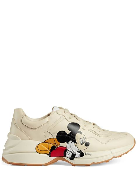 White sneakers GUCCI | 601370DRW009522