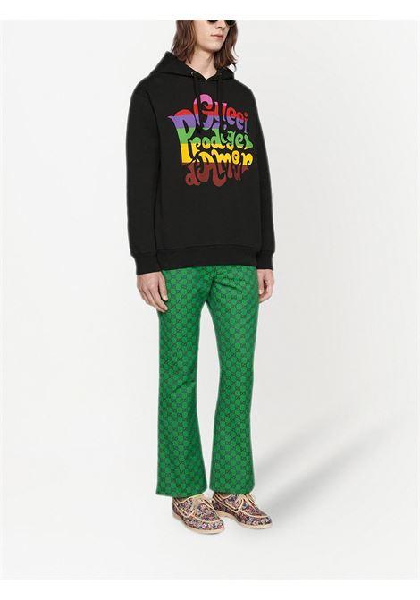 Black sweatshirt GUCCI | 623244XJC8S1043