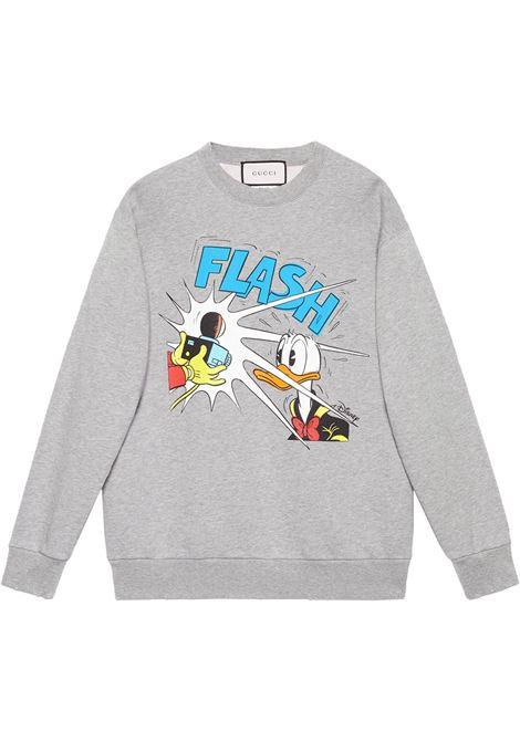Grey sweatshirt GUCCI | 623245XJDAJ1230