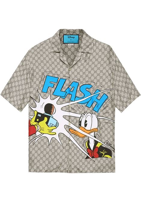 Beige shirt GUCCI | 646446ZAGCN2165