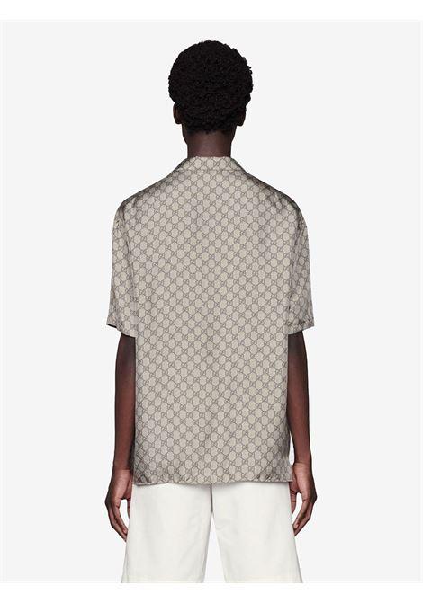 Camicia beige GUCCI | CAMICIE | 646446ZAGCN2165