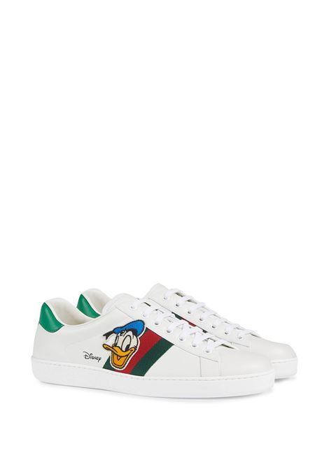 White sneakers GUCCI | 6493991XG609114