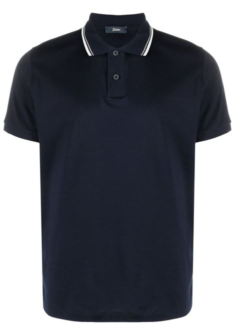 Blue Polo shirt HERNO |  | JPL001U520049200