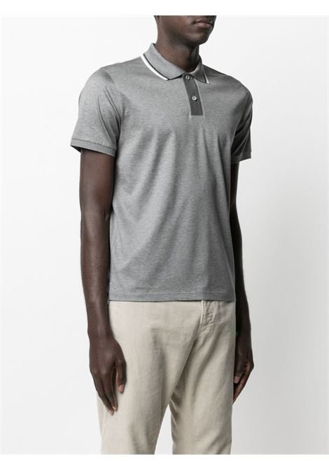 Grey Polo shirt HERNO |  | JPL001U520049406