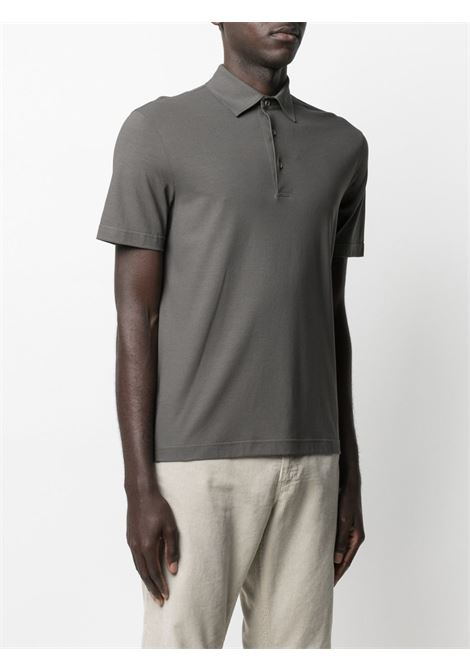 Grey Polo shirt HERNO |  | JPL003U520058600
