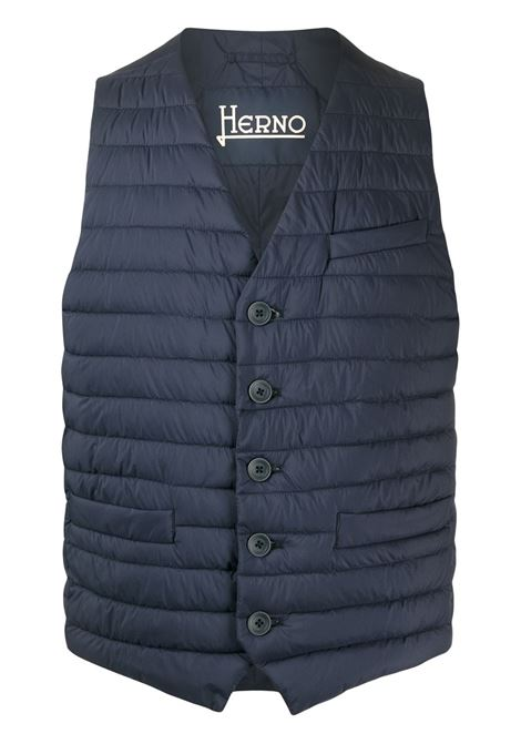 Blue gilet HERNO |  | PC0039U192889201