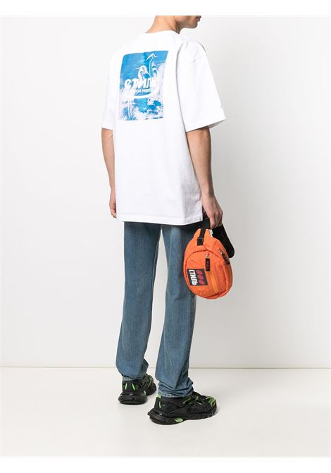 White t-shirt HERON PRESTON |  | HMAA020R21JER0010149