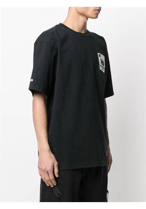 Black t-shirt HERON PRESTON |  | HMAA020R21JER0011049