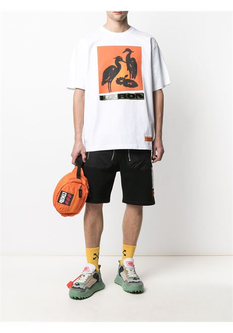 White t-shirt HERON PRESTON |  | HMAA020R21JER0030120