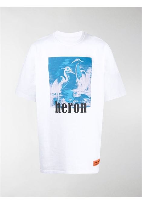 White t-shirt HERON PRESTON |  | HMAA020R21JER0040149