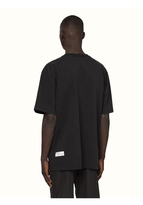 Black t-shirt HERON PRESTON |  | HMAA020R21JER0041016