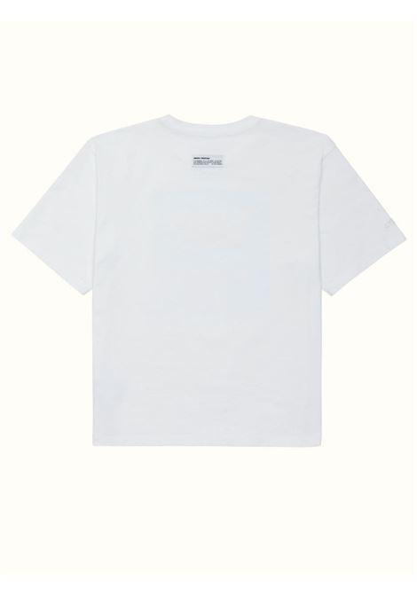 T-shirt bianca HERON PRESTON | T-SHIRT | HMAA025S21JER0010120