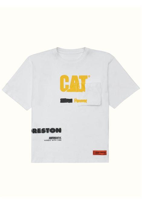 T-shirt bianca HERON PRESTON | T-SHIRT | HMAA028S21JER0010118