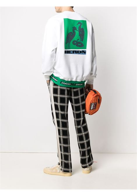 White sweatshirt HERON PRESTON | HMBA014R21JER0020155