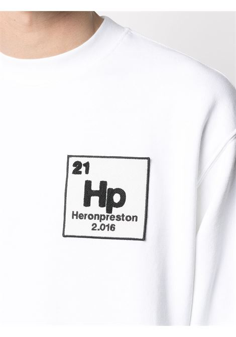 White sweatshirt HERON PRESTON |  | HMBA014R21JER0020155
