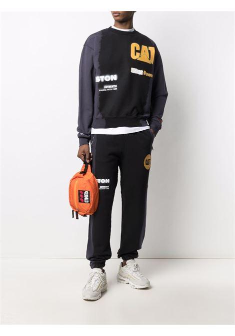 Black sweatshirt HERON PRESTON | HMBA016S21JER0051018