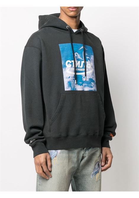 Black sweatshirt HERON PRESTON |  | HMBB015R21JER0011049