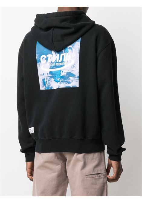 Black sweatshirt HERON PRESTON |  | HMBE006R21JER0011049