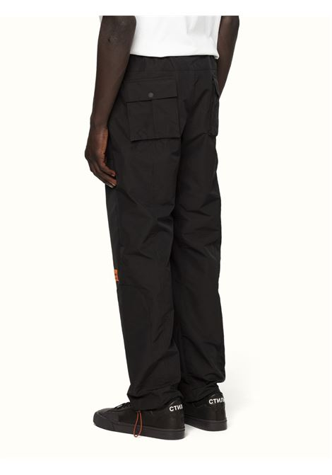 Black track trousers HERON PRESTON |  | HMCA022R21FAB0011001