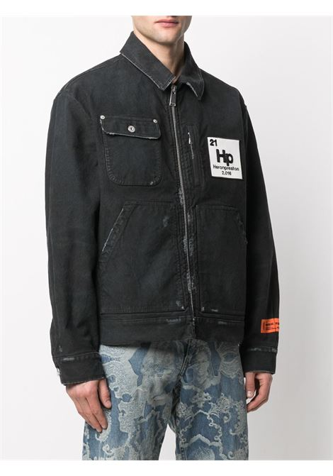 Black jacket HERON PRESTON |  | HMEA052R21DEN0021000