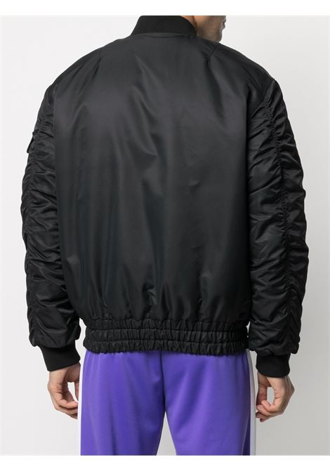 Black bomber jacket HERON PRESTON |  | HMEH004S21FAB0011000