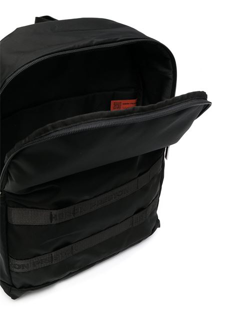 Black backpack HERON PRESTON |  | HMNB012R21FAB0011000