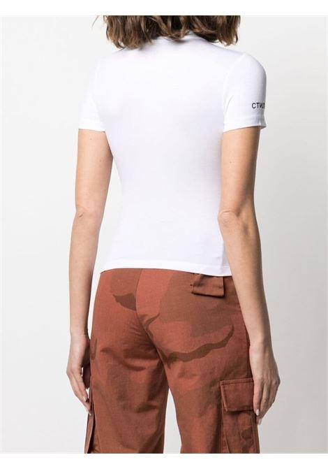 T-shirt bianca HERON PRESTON | T-SHIRT | HWAA022R21JER0010110