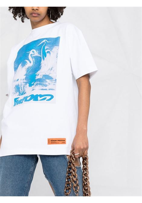 T-shirt HERON PRESTON | T-SHIRT | HWAA023R21JER0030140