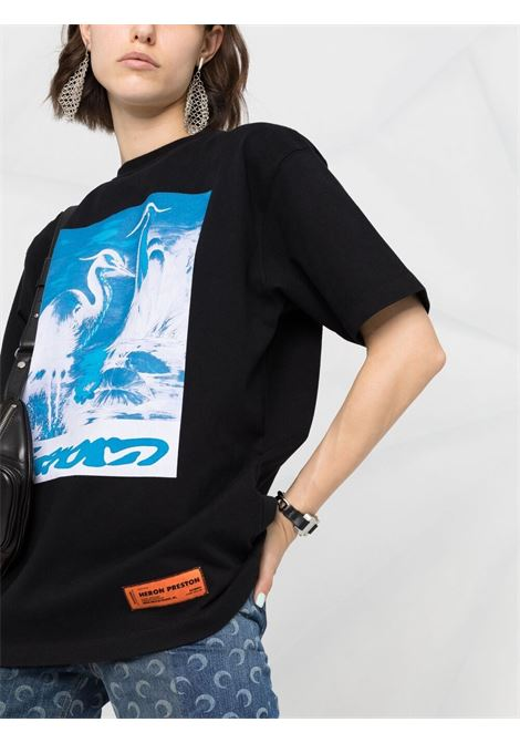 T-shirt HERON PRESTON | T-SHIRT | HWAA023R21JER0031040