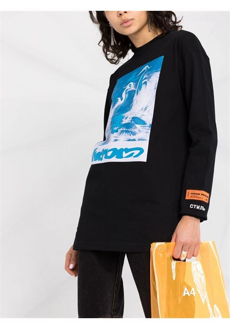 T-shirt HERON PRESTON | T-SHIRT | HWAB019R21JER0031040